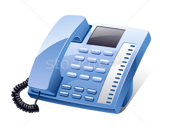 Landline phone Stock photo © jossdiim