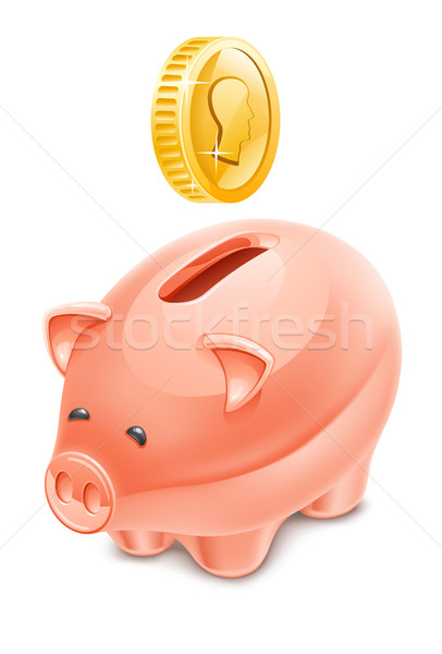 Piggy bank Stock photo © jossdiim