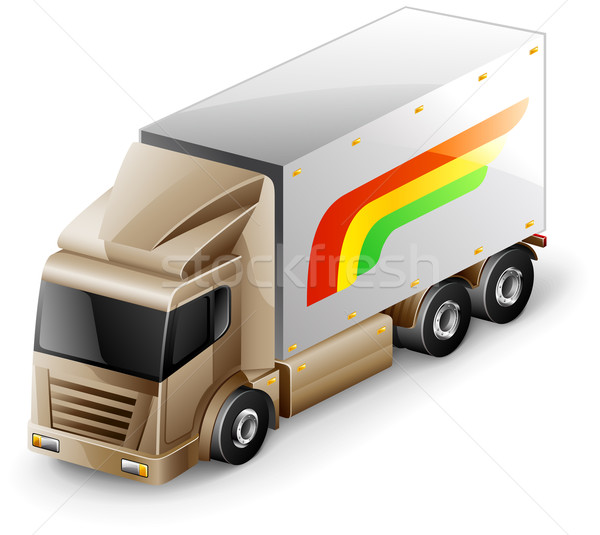 Delivery truck Stock photo © jossdiim