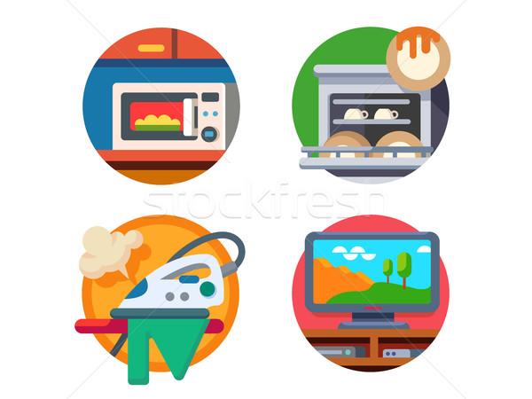 Equipment kitchen and home Stock photo © jossdiim