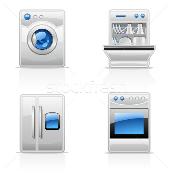 Kitchen appliances Stock photo © jossdiim