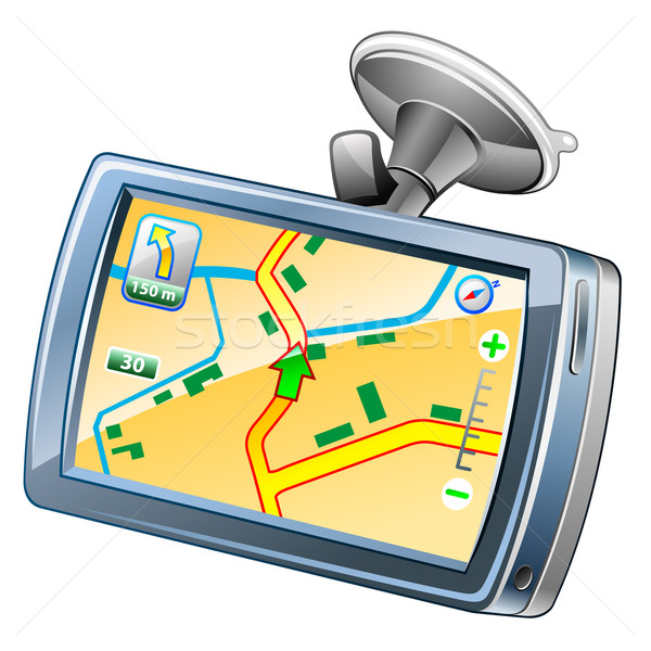 GPS navigation Stock photo © jossdiim