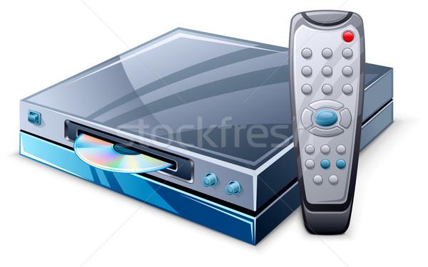 Media player and remote control Stock photo © jossdiim