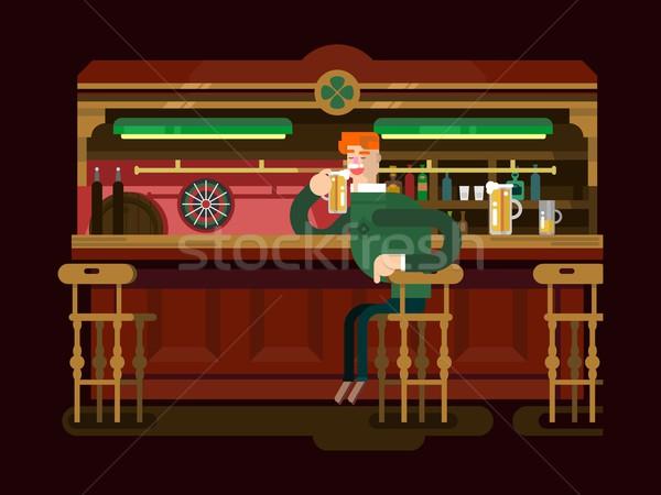 магазин Паб пива Бар пить алкоголя Сток-фото © jossdiim