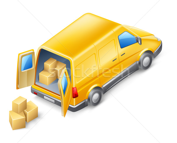 Delivery van Stock photo © jossdiim