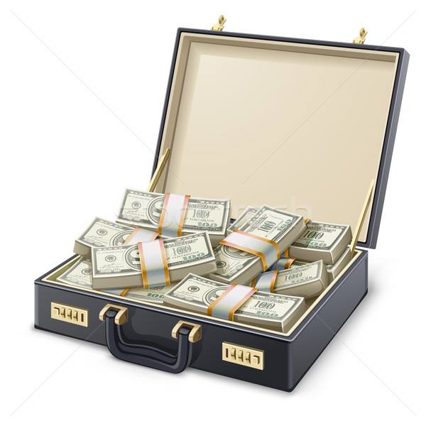 Case full of money Stock photo © jossdiim