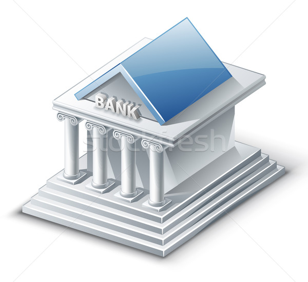 Stock photo: Bank Building