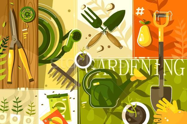 Gardening abstract background Stock photo © jossdiim