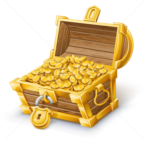 Treasure Chest Stock photo © jossdiim