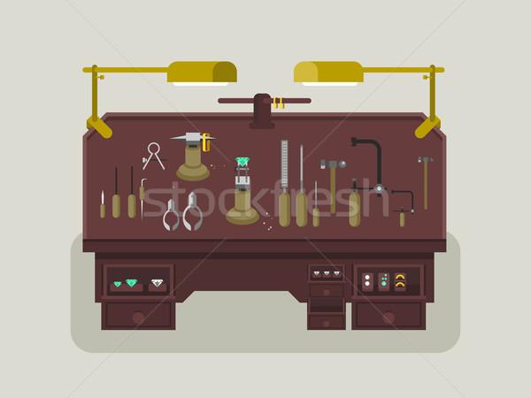 ювелирные ремонта магазин оборудование металл семинар Сток-фото © jossdiim