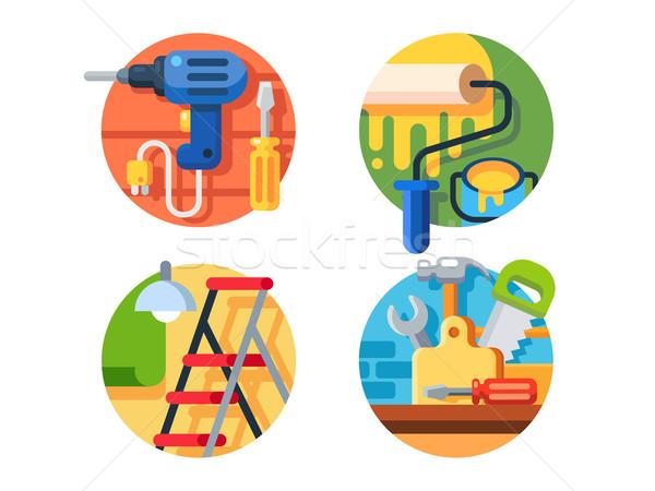 Tools for repair Stock photo © jossdiim