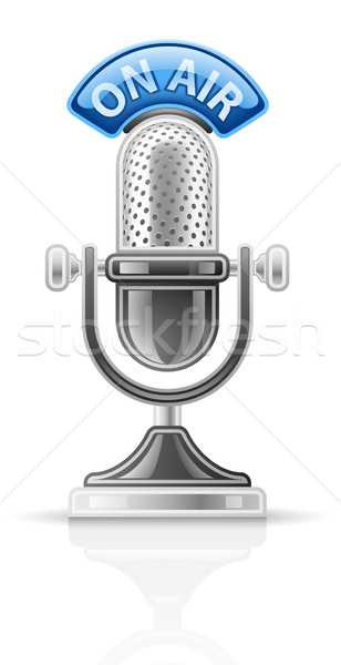 Microphone Stock photo © jossdiim