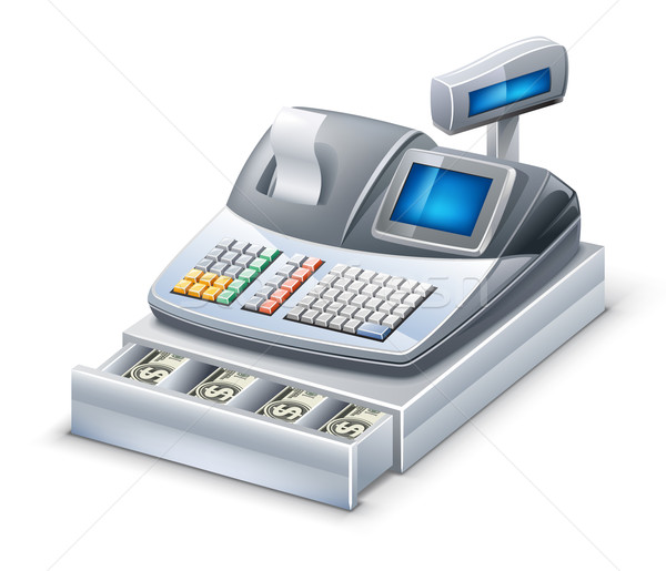 Cash register Stock photo © jossdiim