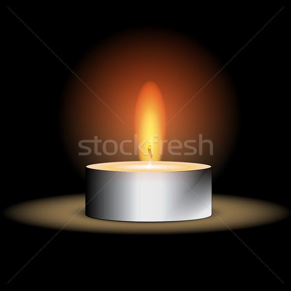Candle Illustration Stock photo © Jugulator