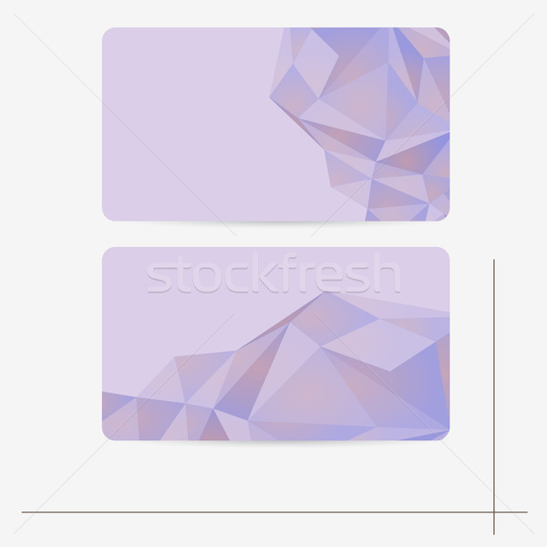 Elegante abstract sjabloon vector illustratie business Stockfoto © Jugulator