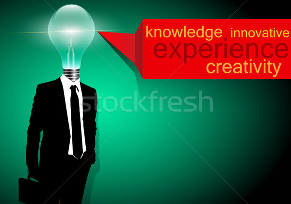 Creatieve business vector illustratie technologie wetenschap Stockfoto © Jugulator