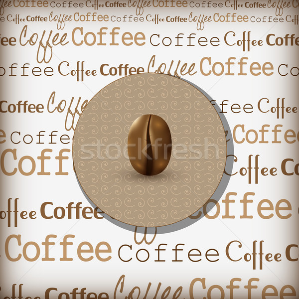 Koffie ontwerp illustratie vector restaurant web Stockfoto © Jugulator