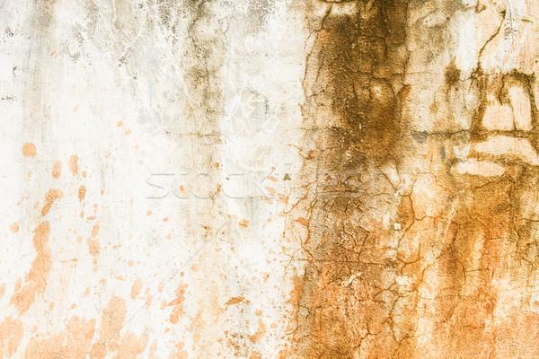 Brudne konkretnych ściany tekstury farby Zdjęcia stock © Juhku