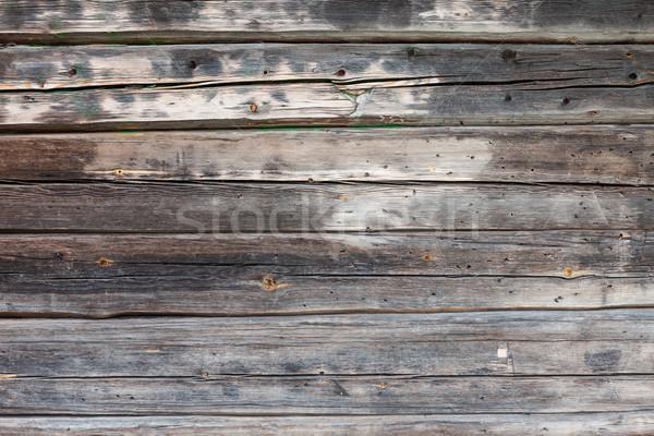 Old wooden wall Stock photo © Juhku