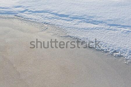 Scenico neve ghiaccio texture luce Foto d'archivio © Juhku