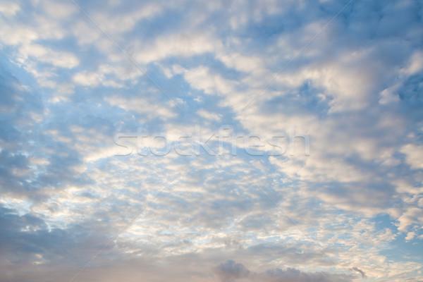 Morning sky clouds Stock photo © Juhku