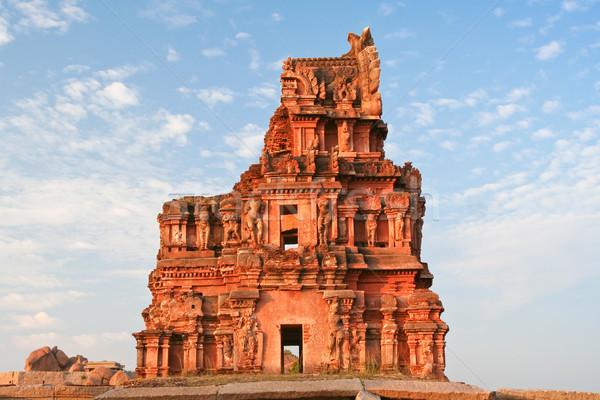 Hampi ruins india Stock photo © Juhku