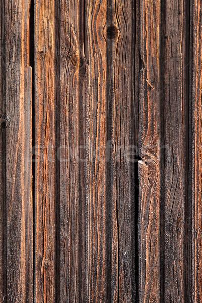 Don eski ahşap doku sıcak güneş ışığı duvar Stok fotoğraf © Juhku