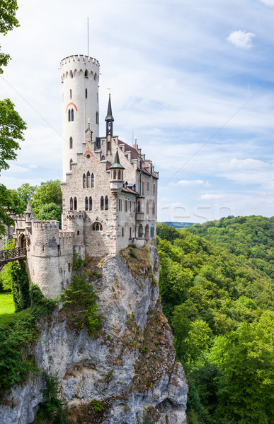 Lichtenstein castle in germany Stock photo © Juhku