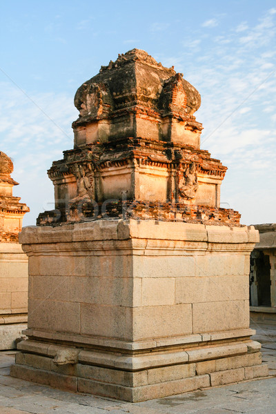 Architecture in hampi india Stock photo © Juhku