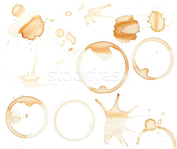 Coffee stains Stock photo © Juhku