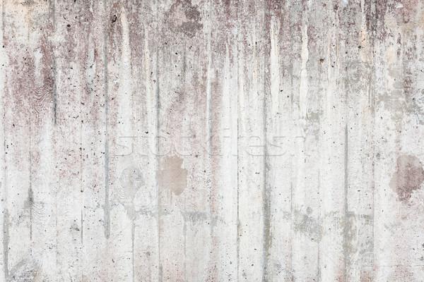 Viharvert beton fal textúra kint háttér Stock fotó © Juhku