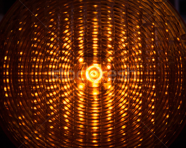 Construction site light closeup Stock photo © Juhku