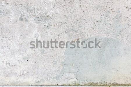 Elnyűtt öreg festett beton fal textúra Stock fotó © Juhku