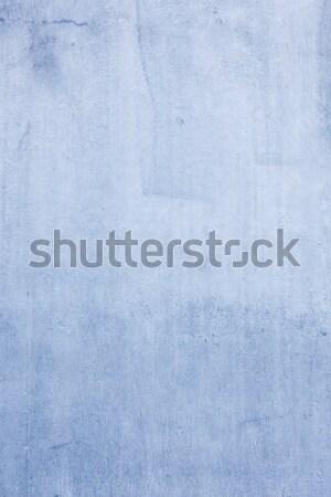Mavi beton duvar doku dizayn boya Stok fotoğraf © Juhku