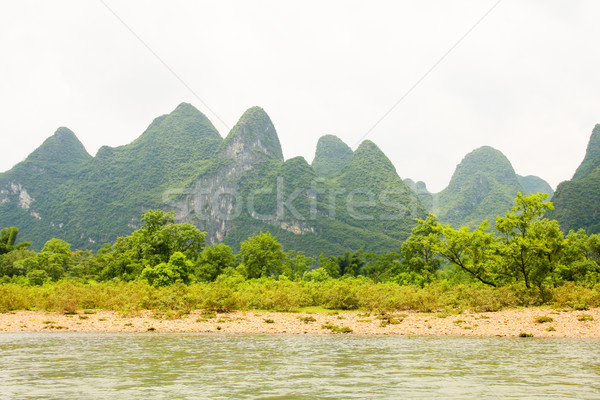 Li river landscape in china Stock photo © Juhku