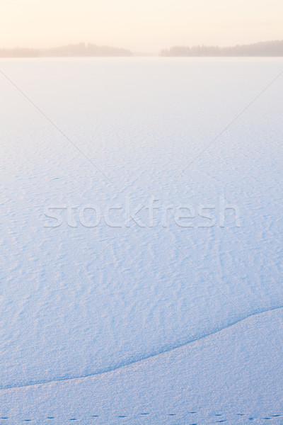 Сток-фото: зима · утра · мнение · заморожены · озеро · безмятежный