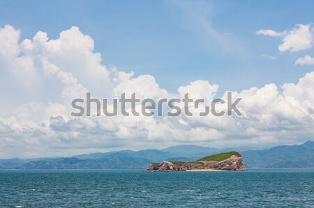 small island in coast of costa rica Stock photo © Juhku