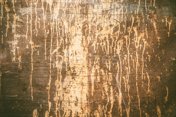 Rusty texture with dripping paint Stock photo © Juhku
