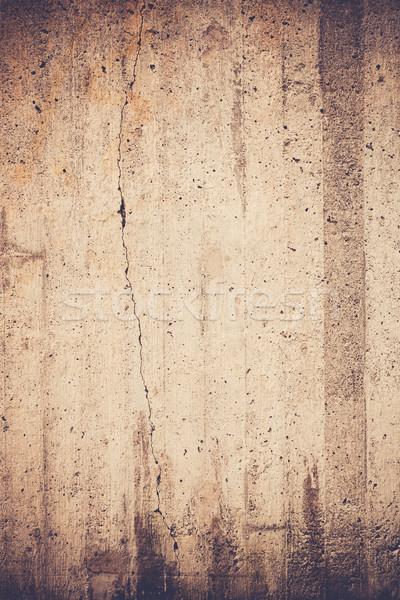 Yıpranmış beton duvar doku açık havada kentsel Stok fotoğraf © Juhku