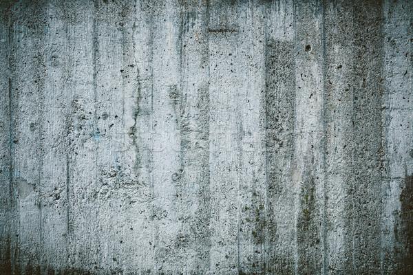 Weathered concrete wall texture Stock photo © Juhku