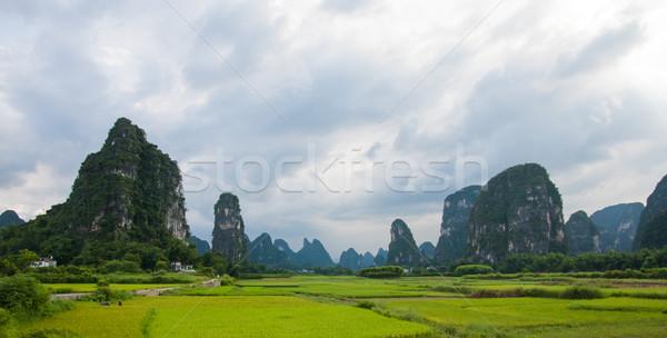 Yangshuo China landscape Stock photo © Juhku