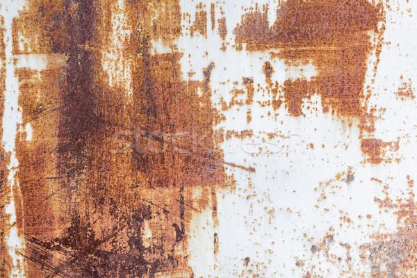 Metallic rusty texture Stock photo © Juhku