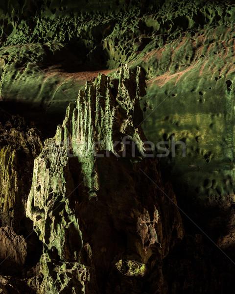 Mağara park borneo Malezya toprak seyahat Stok fotoğraf © Juhku