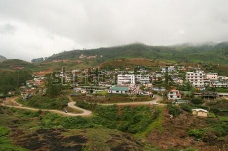 Munnar town India Stock photo © Juhku