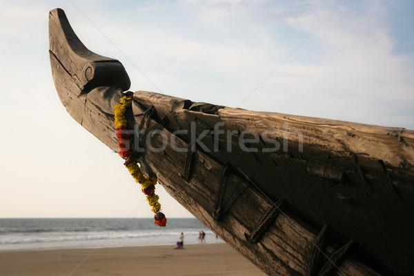 традиционный Индия Гоа пляж воды Сток-фото © Juhku