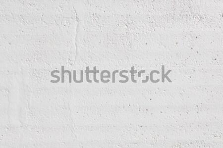 Blanco pintado limpio concretas pared Foto stock © Juhku