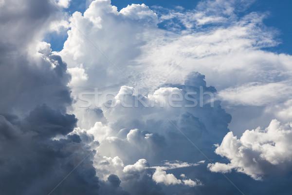 嵐の 雲 空 青空 日 ストックフォト © Juhku