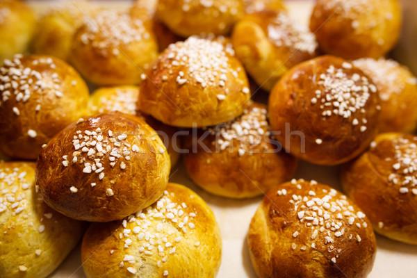 Delicious sugar buns Stock photo © Juhku