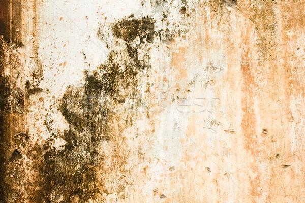 Worn messy textured wall Stock photo © Juhku
