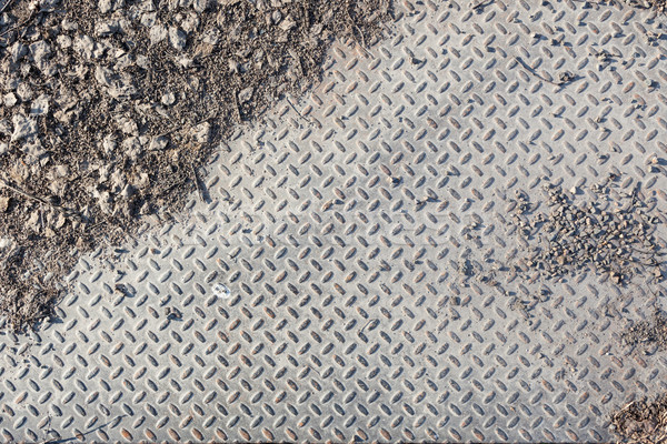 Dirty industrial grip floor texture Stock photo © Juhku
